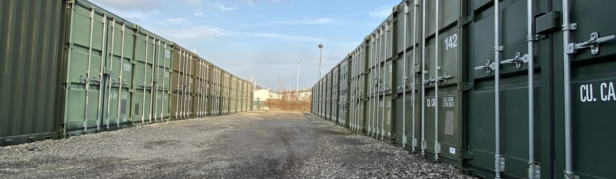 Storage Containers, Wrexham Industrial Estate
