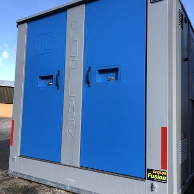 6 Man Mobile Welfare Unit with Office & Twin Toilet