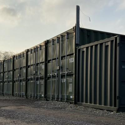 Self Storage Containers, Wrexham Industrial Estate
