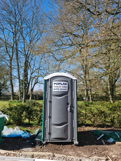 Portable Toilet Hire Wrexham, Chester, Cheshire, Mold & the Wirral